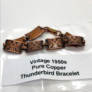 Jewelry - Pure Copper Vintage Bracelet - 1950s